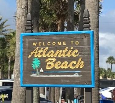 atlantic beach florida sign